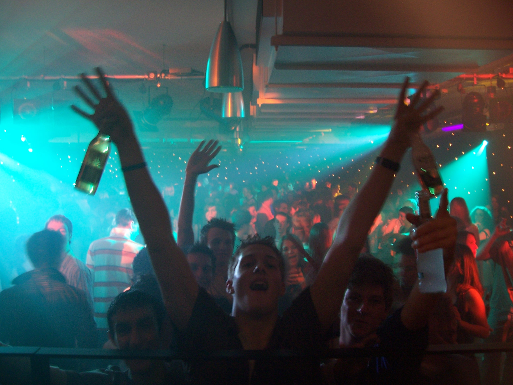A Full house in Fusion for yours truly and Radio 1 DJ Scott Mills, the high point of my career!