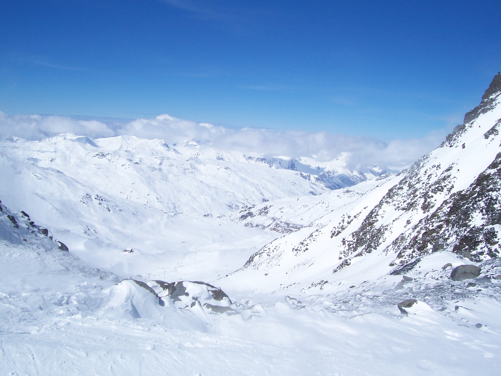 The Col in Val Thorens. March 2006.