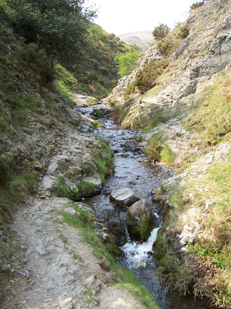 Carding Mill Valley, Long Mynd, Shropshire. April 2007.