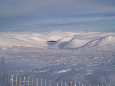 Looking north from Meall Odhar. Feb 2009.