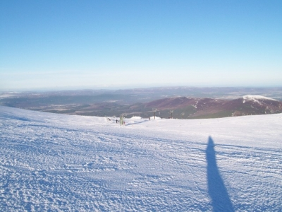 Above the Ptarmigan T-Bar. Jan 2011.