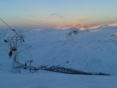 Top of the Cairnwell chair.