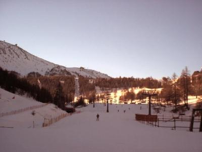 Sauze D'Oulx, Italy, January 2002.