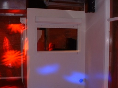 "Bar One ""Burger Hatch"" DJ box"
