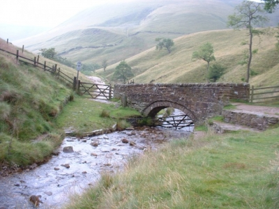 Near the start of the Pennine Way, near Upper Booth, Derbyshire, England.