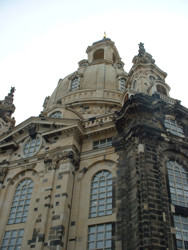 Frauenkirche in Dresden, November 2007.