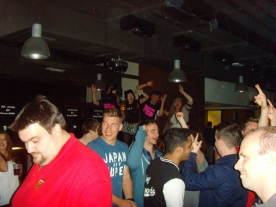 Bar One, The Hub. 9th June 2013