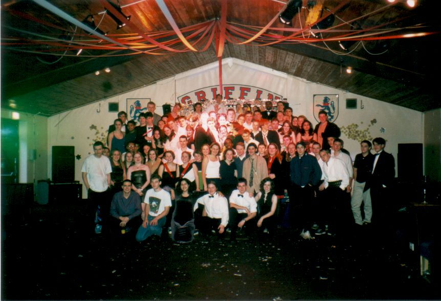 Griffin Close 1997 Christmas Ball Survivors.