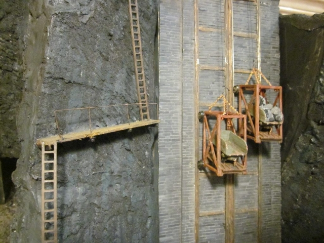 Lift Incline with ladder way on the left